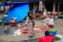 Sumatra, Straßenmarkt