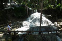 Sumatra, Umgebung Bukittinggi, Aek Sijornih Wasserfall