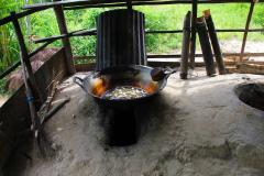 Sumatra, Umgebung Bukittinggi, Rohrzuckerherstellung