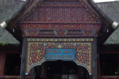Sumatra, Bukittinggi, Museum Rumah Adat Baanjuang