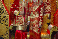 Sumatra, Umgebung Bukittinggi, Minangkabauische Hochzeit