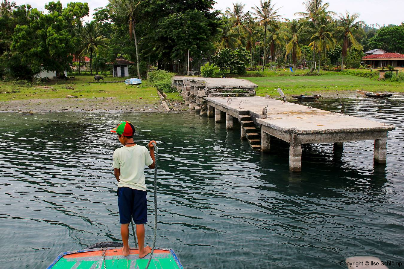 Sumatra, Toba-See, Fahrt zur Insel Samosir