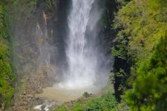 Sumatra, Sipiso Piso Wasserfall