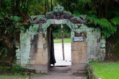 Sumatra, Toba-See, Insel Samosir, Huta Bolon Simanindo Batak Museum