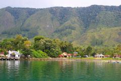 Sumatra, Toba-See, Insel Samosir