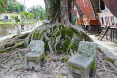 Sumatra, Toba-See, Insel Samosir, Huta Siallagan