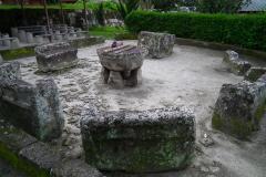 Sumatra, Toba-See, Insel Samosir, Huta Siallagan, Opferstätte