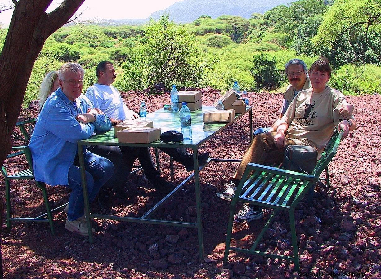 Tansania, Picknick im Lake Manyara Nationalpark