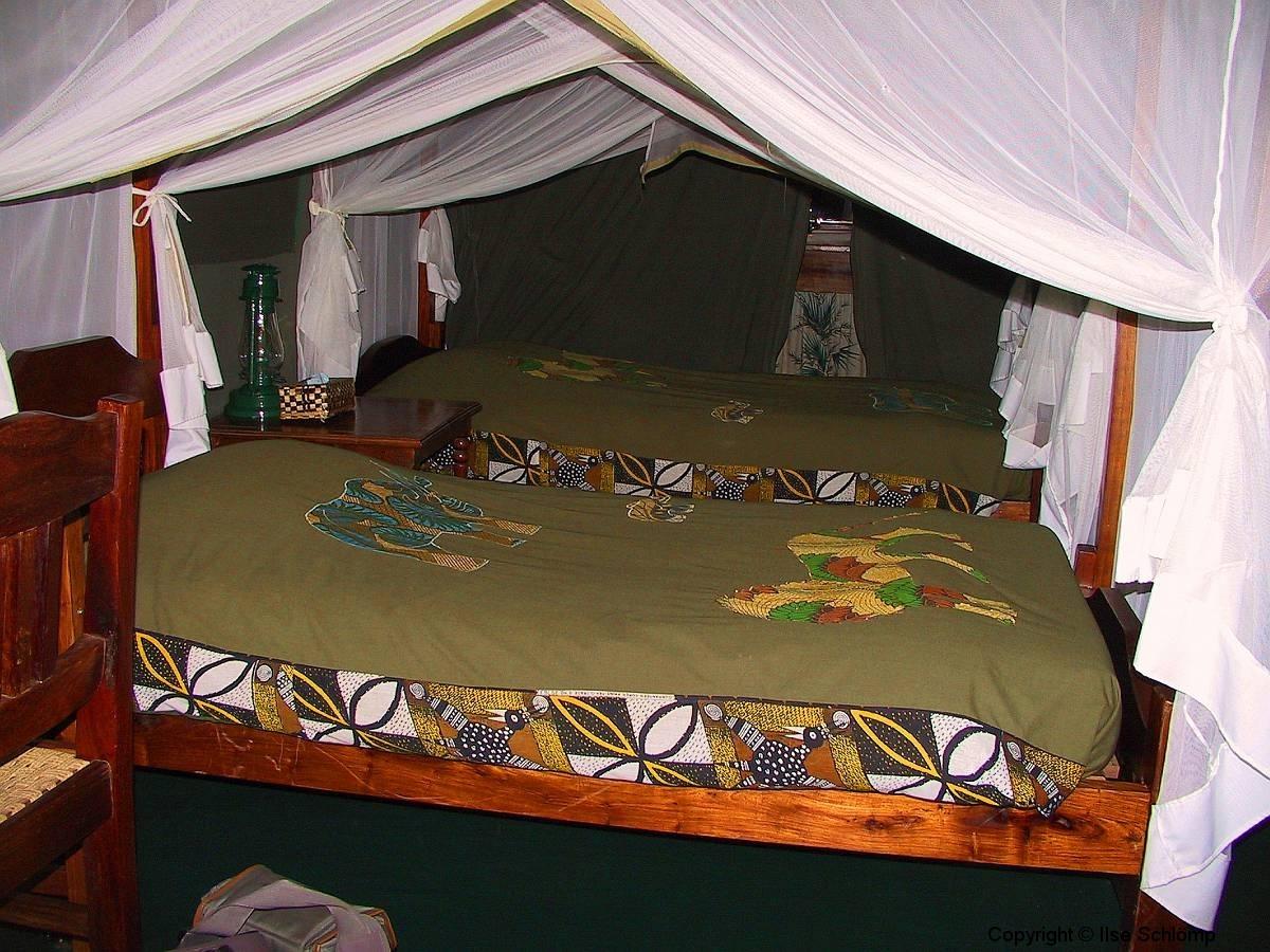Tansania, Lake Manyara Nationalpark, Camp