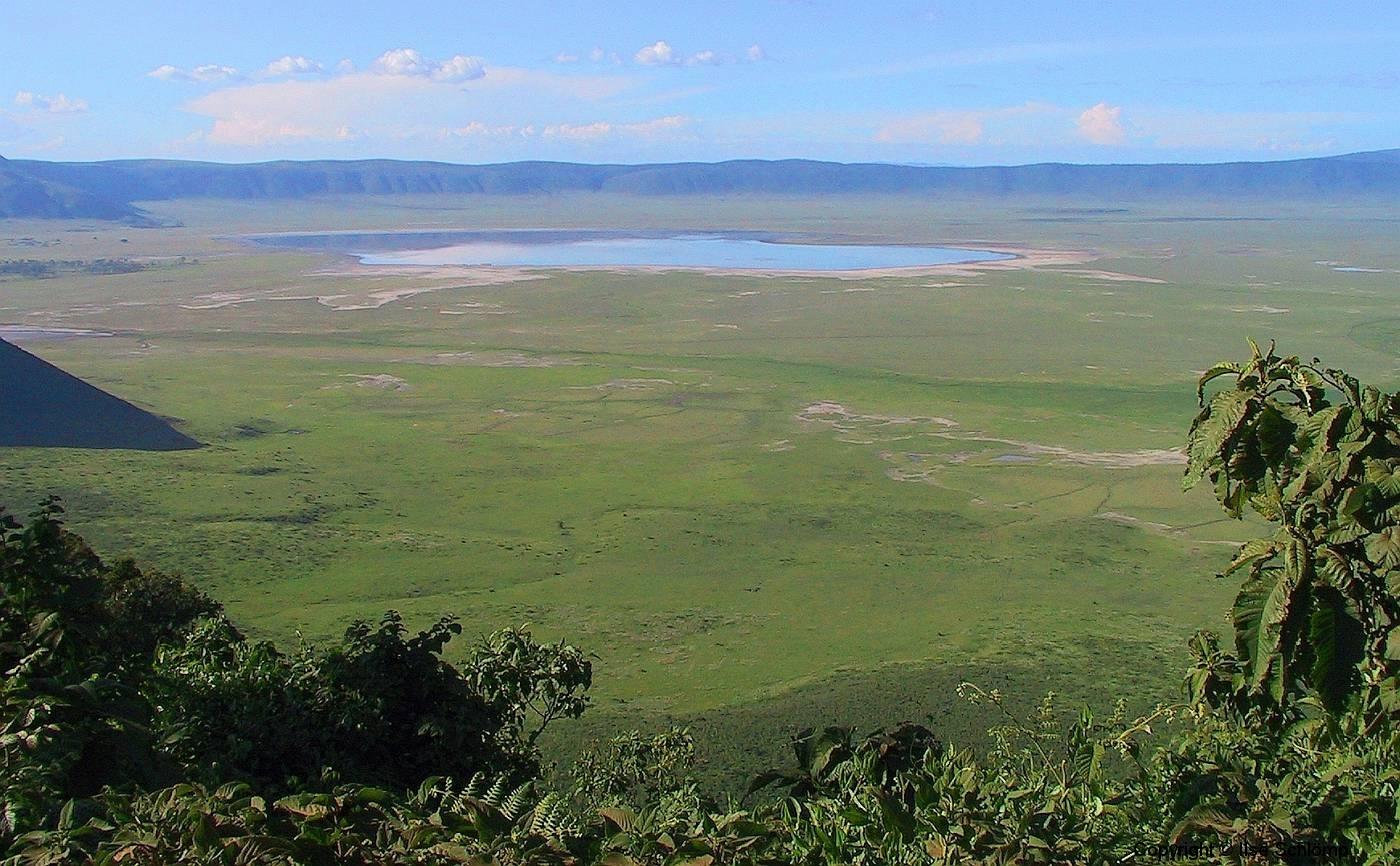 Tansania, Blick in den Ngorongorokrater