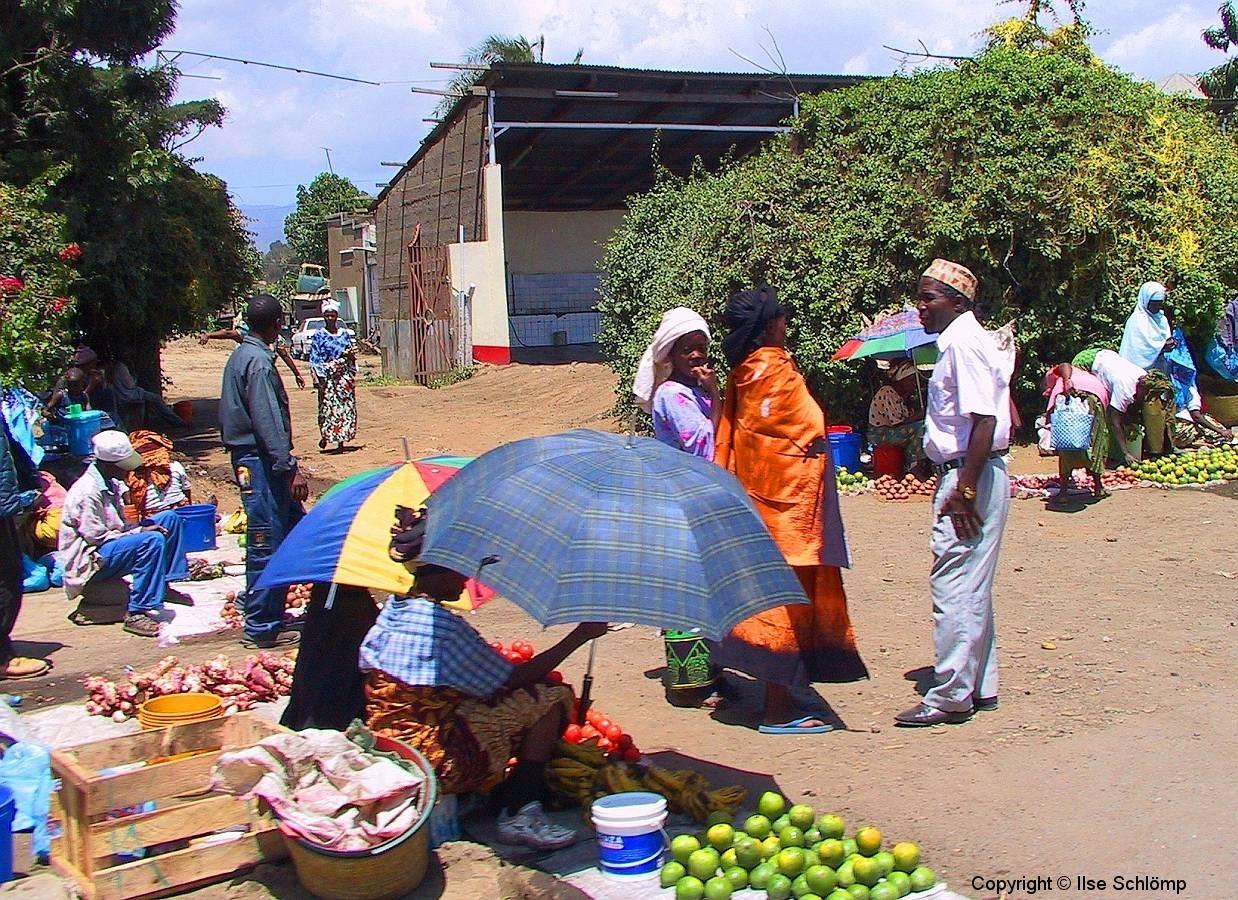 Tansania, Markt