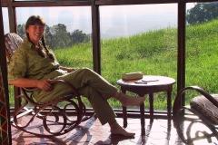 Tansania, Sopa Lodge im Ngorongoro, Mit Blick in den Ngorongoro