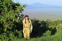 Tansania, Ngorongorokrater, Engelstrompete