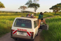 Tansania, Tarangire Nationalpark, Ausschau nach Großwild