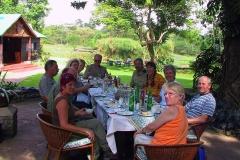 Tansania, Arusha, Abschiedsessen