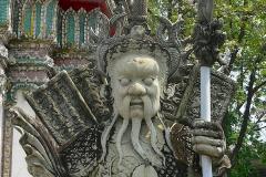 Thailand, Bangkok, Wat Pho, Wächter