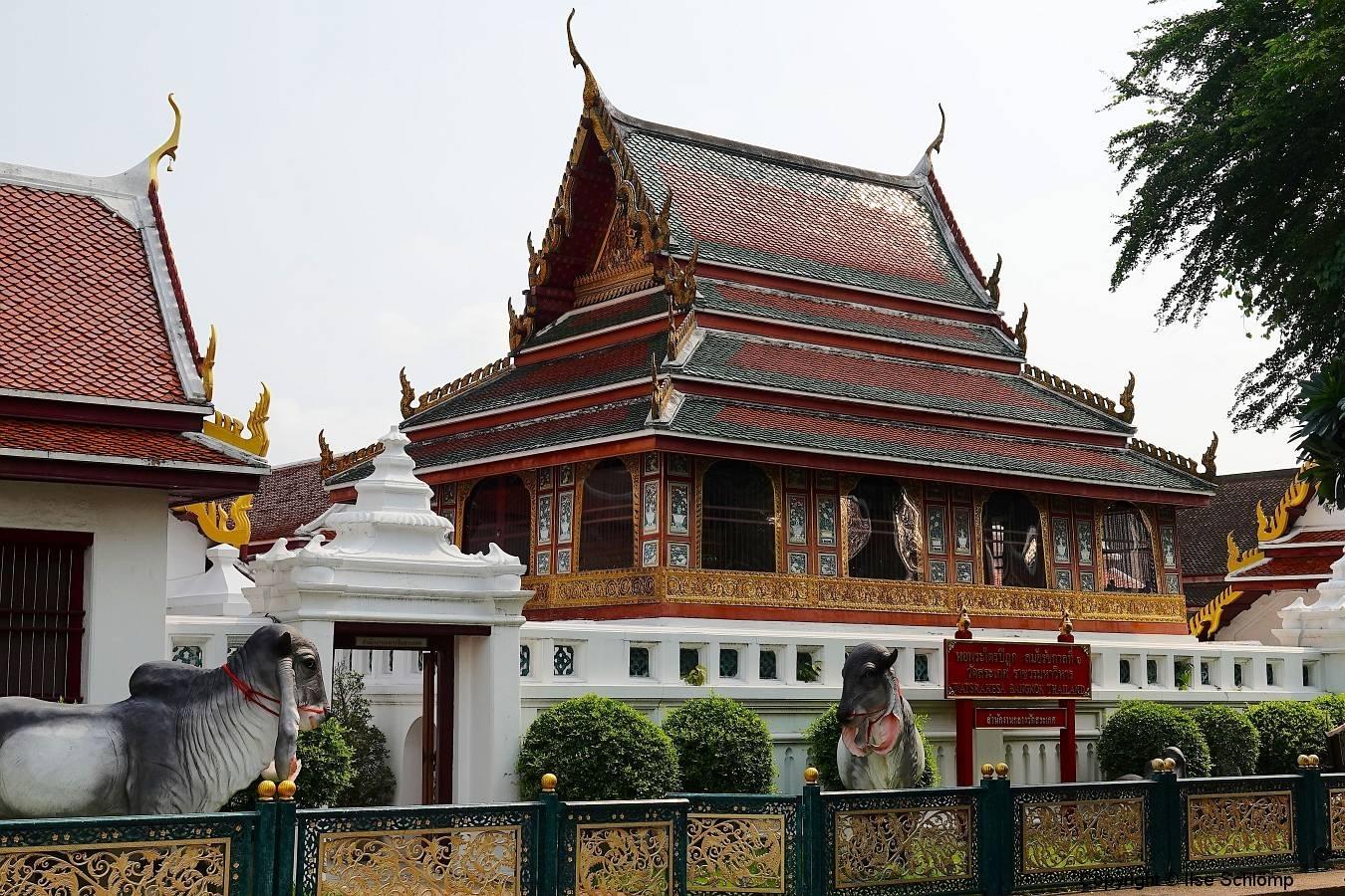 Thailand, Bangkok, Buddhistischer Tempel