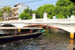 Thailand, Bangkok, Khlong Saen Saep Kanalboot