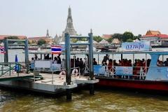 Thailand, Bangkok, Fähre nach Wat Arun
