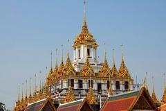 Thailand, Bangkok, Loha Prasat Tempel