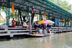 Thailand, Bangkok, Khlongfahrt