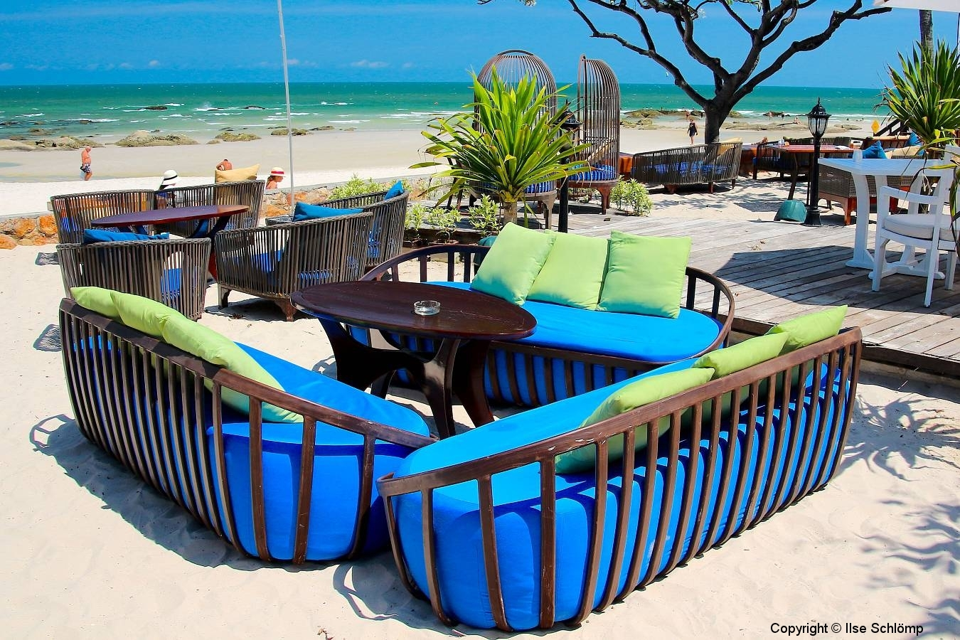 Thailand, Hua Hin, Centara Grand Beach Resort