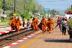 Thailand, Hua Hin, Historischer Bahnhof