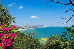 Thailand, Blick auf Hua Hin