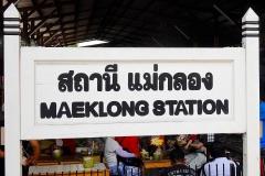 Thailand, Samut Songkhkram, Mae Klong Station