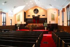 USA, Georgia, Atlanta, Ebenezer Baptistenkirche