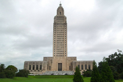 USA, Louisiana, Baton Rouge, Louisiana State Capitol