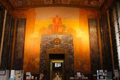 USA, Louisiana, Baton Rouge, Louisiana State Capitol, Eingang Memorial Hall