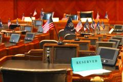 USA, Louisiana, Baton Rouge, Louisiana State Capitol, Senatskammer