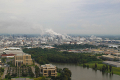 USA, Louisiana, Industriegebiet von Baton Rouge
