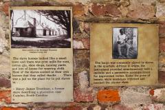 USA, South Carolina, Boone Hall Plantage, Sklavenhaus