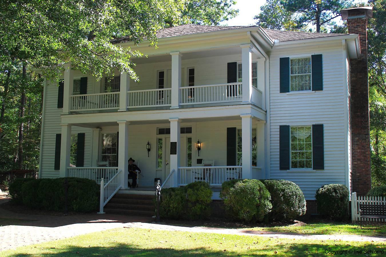 USA, Georgia, Jonesboro, Stately Oaks Antebellum-Haus Tara