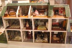 USA, Georgia, Jonesboro, Road to Tara Museum, Tara Miniatur