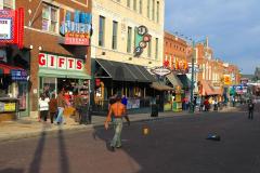 USA, Tennessee, Memphis, Beale Street, Straßenkünstler