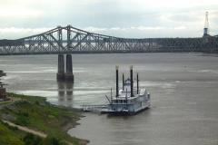 USA, Mississippi, Natchez, Mississippi River Spielcasino
