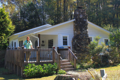 USA, North Carolina, Great Smoky Mountains Nationalpark, Four Seasons Home