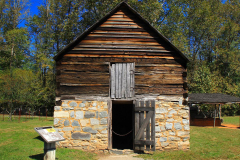 USA, North Carolina, Great Smoky Mountains Nationalpark, Cherokee, Mountain Farm Museum