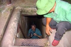 Cu Chi, Ausstieg aus dem Tunnelsystem