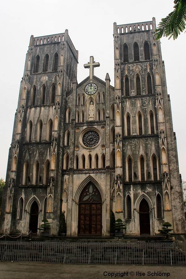 Vietnam, Hanoi, St. Joseph-Kathedrale