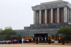 Vietnam, Hanoi, Ho Chi Minh Mausoleum