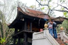 Vietnam, Hanoi, Einsäulenpagode