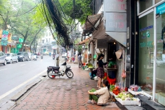 Vietnam, Hanoi, Kabelsalat