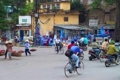Hanoi, Straßenansicht