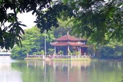 Hanoi, Hoan-Kiem-See, Jadebergtempel