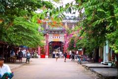 Hoi An, Eingang zu einer chinesischen Versammlungshalle