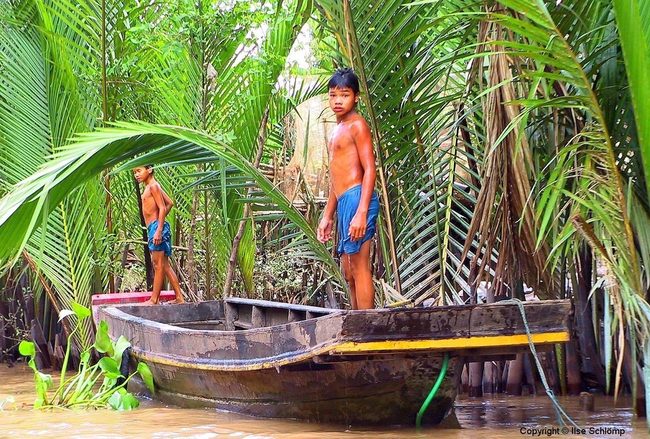 Mekong-Delta, Badefreuden